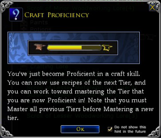 Craft Proficiency