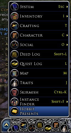 Access to Hobbit Presents panel
