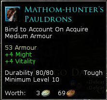 Mathom-Hunter's Pauldrons