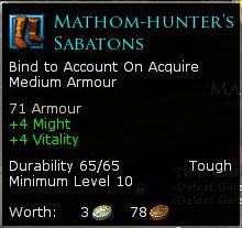 Mathom-Hunter's Sabatons