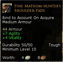 Fine Mathom-Hunter's Shoulderpads