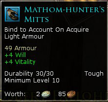 Mathom-Hunter's Mitts