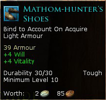 Mathom-Hunter's Shoes